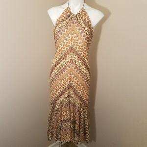 Banana Republic halter dress size large
